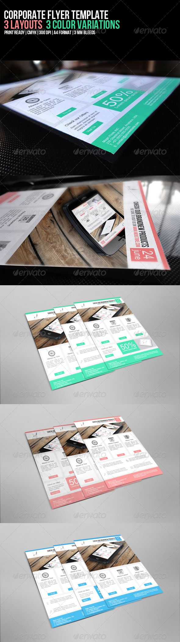 95 best Print Templates images on Pinterest | Print templates, Flyer ...