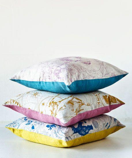 Swedish Linen Cushions | Daniel Heath www.danielheath.co.uk http://wzorywidze.pl/shop/producer/show/id/40