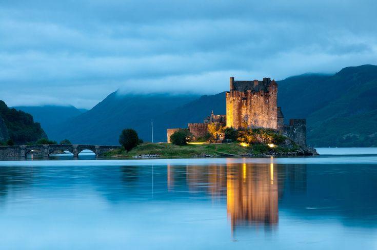 Os castelos escoceses são os principais símbolos da arquitetura escocesa.
