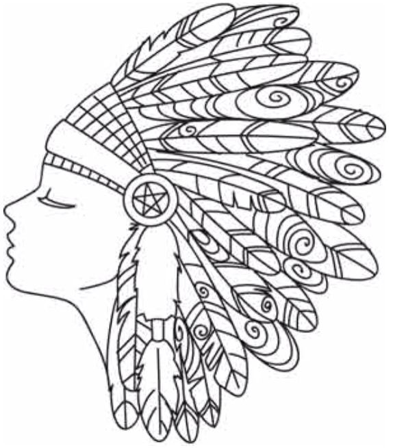37 best indien images on Pinterest Coloring pages, Tattoo ideas - copy indian symbols coloring pages
