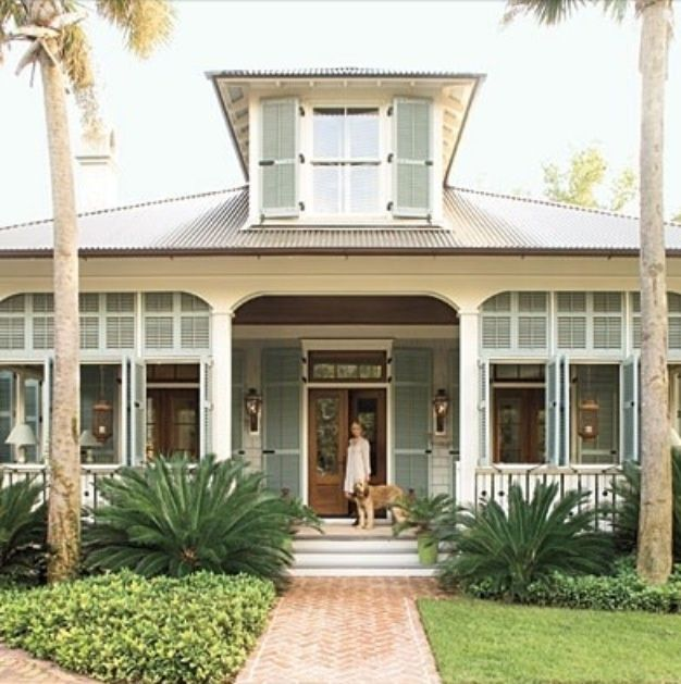 Timeless coastal charm key west style key west and key Southern living builders