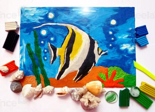 Fish from plasticine.  #fish #art #plasticineart #freelancecreative #freelancediscount #freelancer