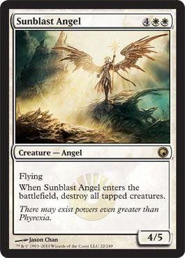 Magic: the Gathering - Sunblast Angel - Scars of Mirrodin $1.37