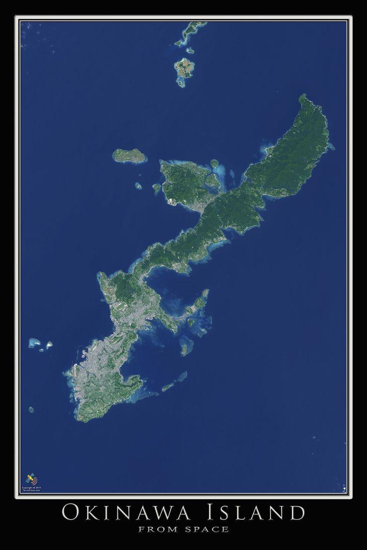 Best Okinawa Images On Pinterest Okinawa Japan Japan - Japan map satellite