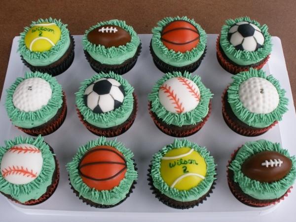 Sports Cupcakes...