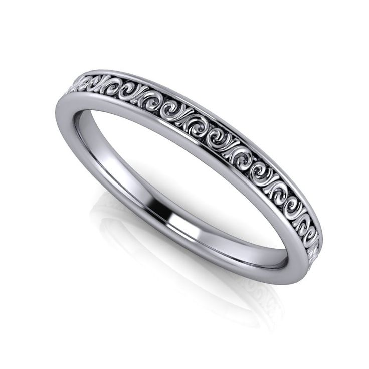 Women's Platinum Wedding Band - Choice of Metal