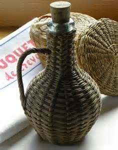 Wicker Demijohn -