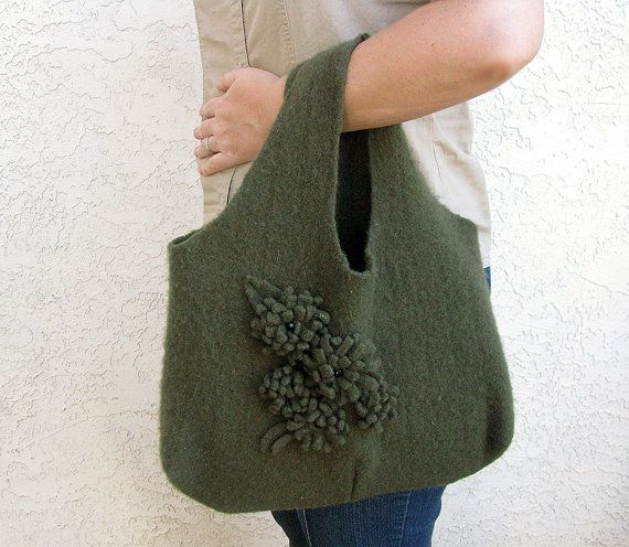 Artistic Life: Upcycling Sweaters. Part 1- Big and Little Bags. Natural wool fiber sweaters thrown in a hot wash cycle will felt!  Here's a couple projects to make from a ruined sweater.