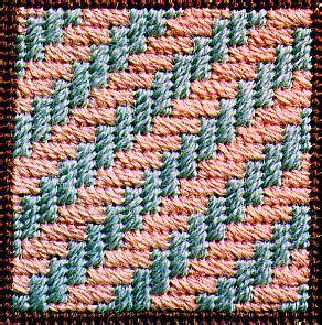 Photo of Diagonal Hedge Row Decorative Stitch