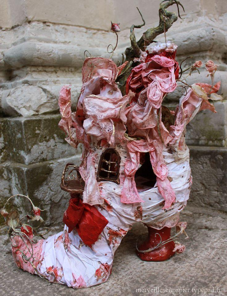 Chaussure-maison-de-poupée-8 merveilles en papier