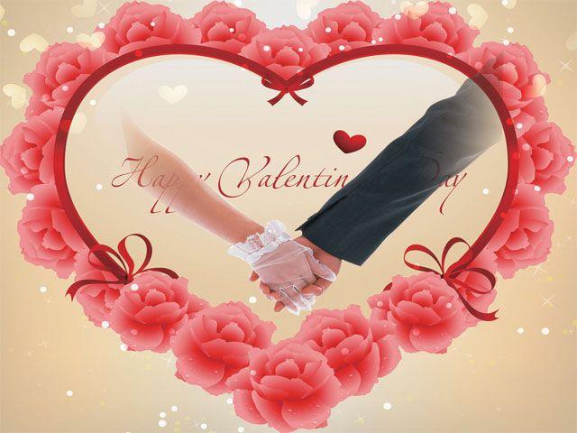 تحميل فريم قلب وزهور حمراء مفتوح Psd للفوتوشوب Flower Backgrounds Flower Heart Pink Heart