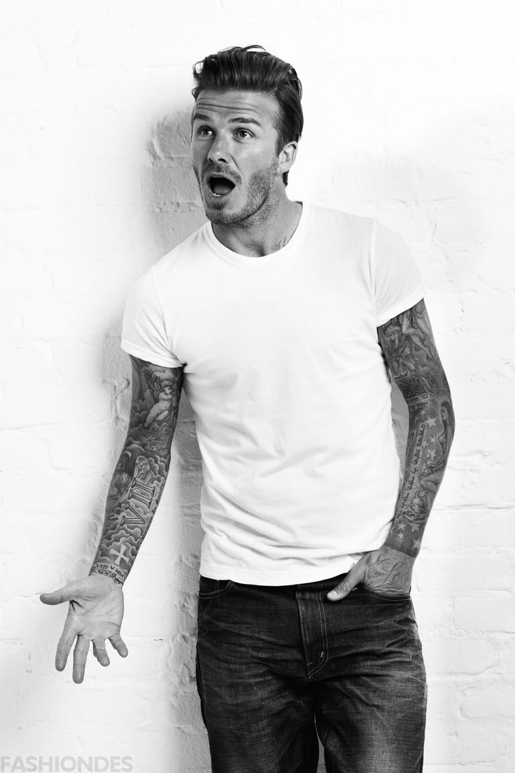 196 best david beckham images on pinterest for David beckham tattoo sleeve