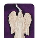 Collectables: Blessing Angel of Grace. A beautiful collectable Angel that can be used for hanging anywhere as a decorative piece. Especially appropriate for Christmas and for hanging on the tree! Also a sweet little gift or stocking filler. Can also be hung around the house ANY time of the year, just use a little imagination! (Think door handles, dresser handles, by a window etc.) £7.29. MERRY CHRISTMAS!  Shop now at: www.AngelicCreationsShop.net