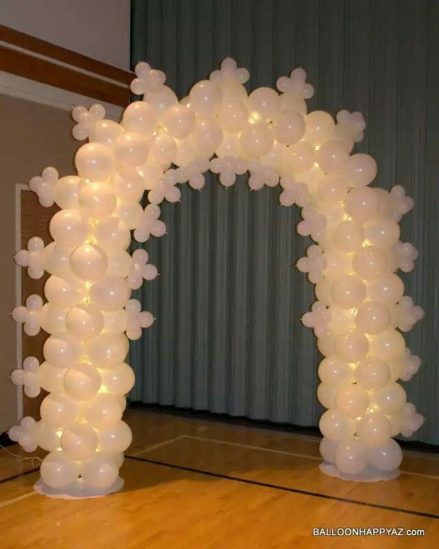 1000 images about balloon stuff on pinterest twists for Arch balloon decoration