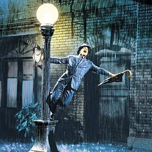 Singing in the rain.....