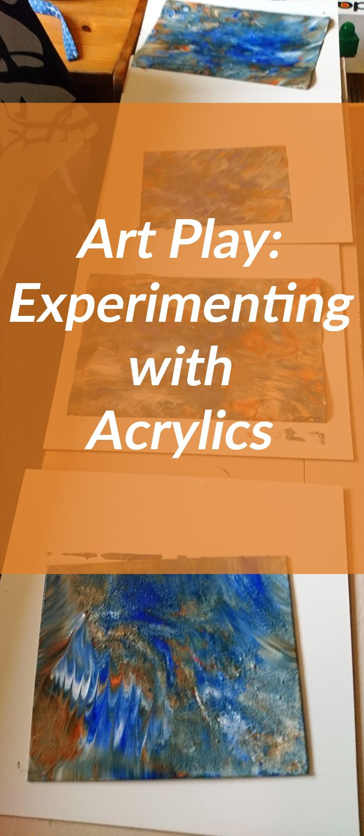 Fun and Play: Experimenting With Acrylics by Linda Ursin