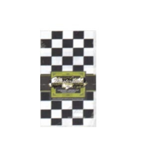"""Plastic Checkered Tablecover (54"""" x 108"""")"""