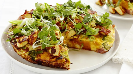 Ham & Haloumi Frittata in 25 minutes? Click on the image to view recipe.
