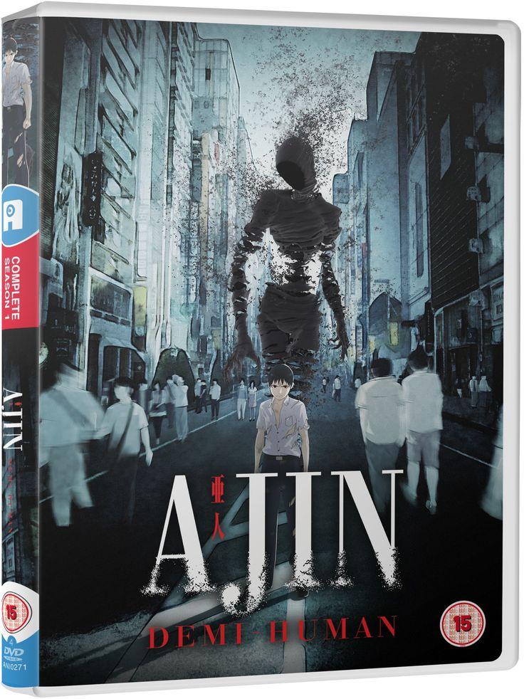 Ajin Season 1 Standard (DVD) [Reino Unido] Standard,