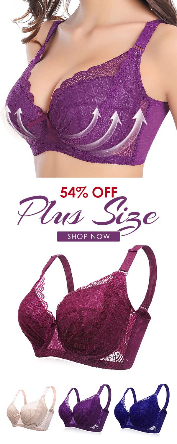 b3453f71672 Plus Size Sexy Push Up Minimizer Lace Busty Bras  bras  lace  sexy  busty