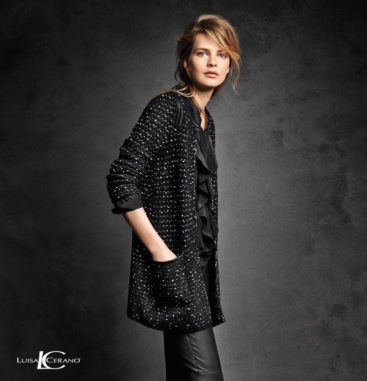 LUISA CERANO Kollektion Herbst/Winter 2014 – Look11 #fashion #FW14