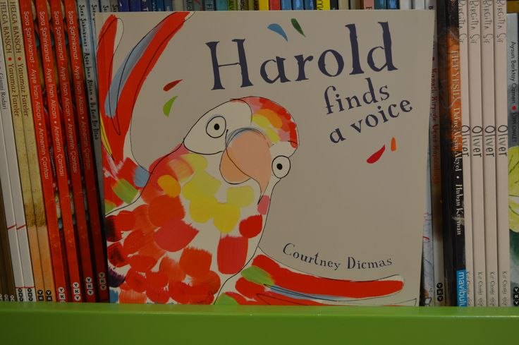 Kids Nook Reads: Harold Finds a Voice