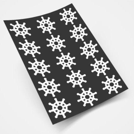 Adesivo Decorativo Kit Náutico 15 Lemes