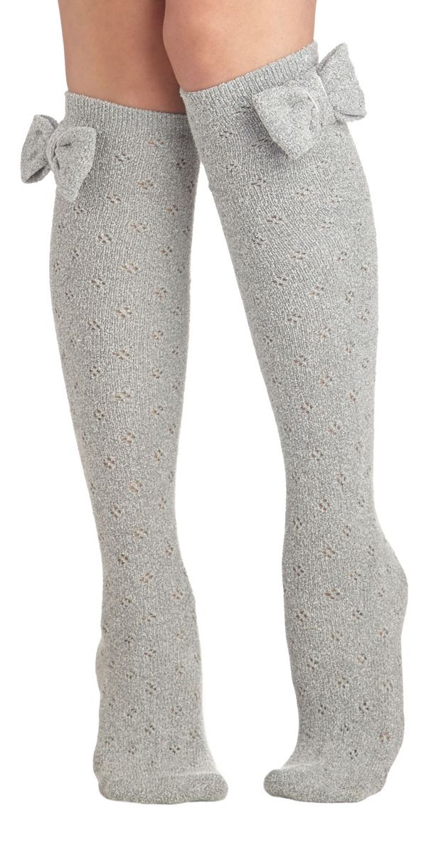 |>o<| Bow socks! |>o<| I need these!!