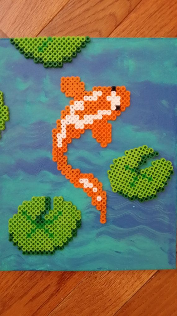 1000 images about animal bead sprites on pinterest for Koi fish beads
