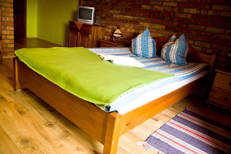 Podwójne łóżko w naszym hotelu