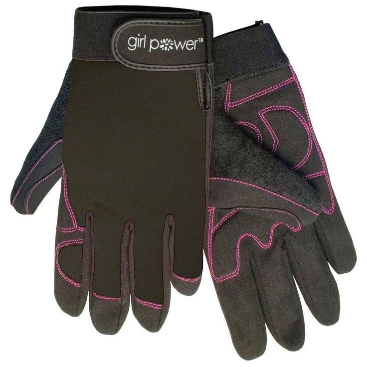 MGP100 Black Women's Mechanics Gloves
