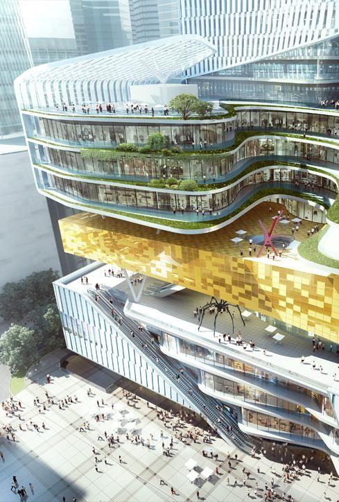 Chongqing Xinhua Bookstore Group Jiefangbei Book City Mixed-use Project