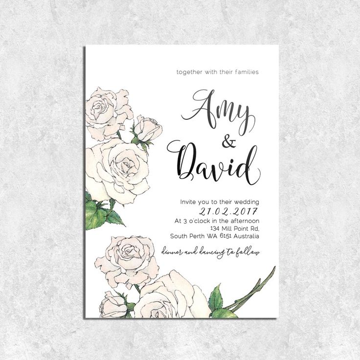 7 best images about wedding invitations hestia creative on Wedding Invitations South Perth rose calligraphy rose illustrationclassic wedding invitationscalligraphy South Perth Map