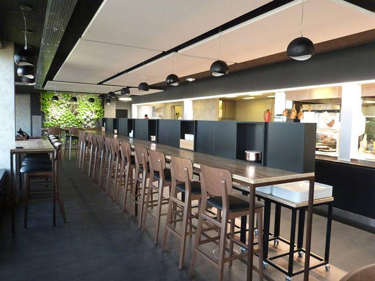 abbiamo avuto il piacere di essere coinvolti per un importante progetto di restyling di un ristorante all'interno di una banca a ginevra SESTINI E CORTI