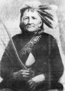 Chief Okemos around 1789, courtesy of the University of Michigan