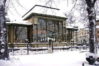 Kappeli restaurant at Helsinki's Esplanadi...Finland
