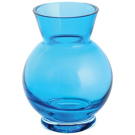 Buy Dartington Little Gems Ball Vase Teal Online At Johnlewis Com Accesories Colored Glass