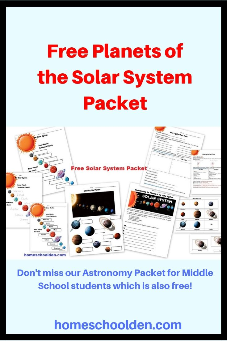 hight resolution of Free Planets of the Solar System Worksheets Free set of worksheets about  the planets of o…   Solar system worksheets