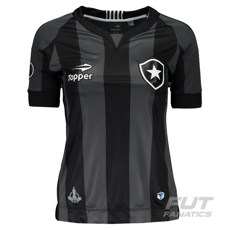Camisa Topper Botafogo II 2016 Feminina Libertadores Somente na FutFanatics você compra agora Camisa Topper Botafogo II 2016 Feminina Libertadores por apenas R$ 179.90. Botafogo. Por apenas 179.90