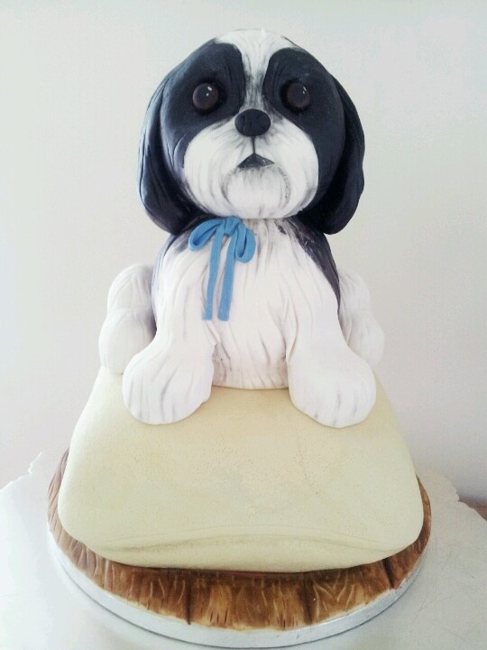 Make A Small Dog Cake