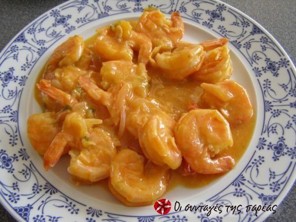Shrimps with a citrus flavor #cooklikegreeks #shrimps #shellfish #seafood