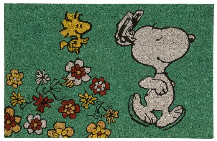 Peanuts Dancing Doormat