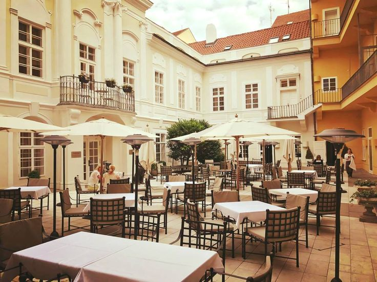 Our beautiful courtyard !