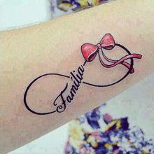 Fotos de Tatuagens de Símbolo do Infinito