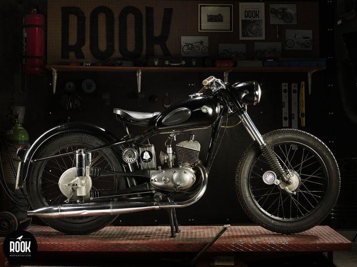ROOK motorfietsen MZ 125 RT mk1. Photography: Geert De Taeye, www.facebook.com/ROOKmotorfietsen
