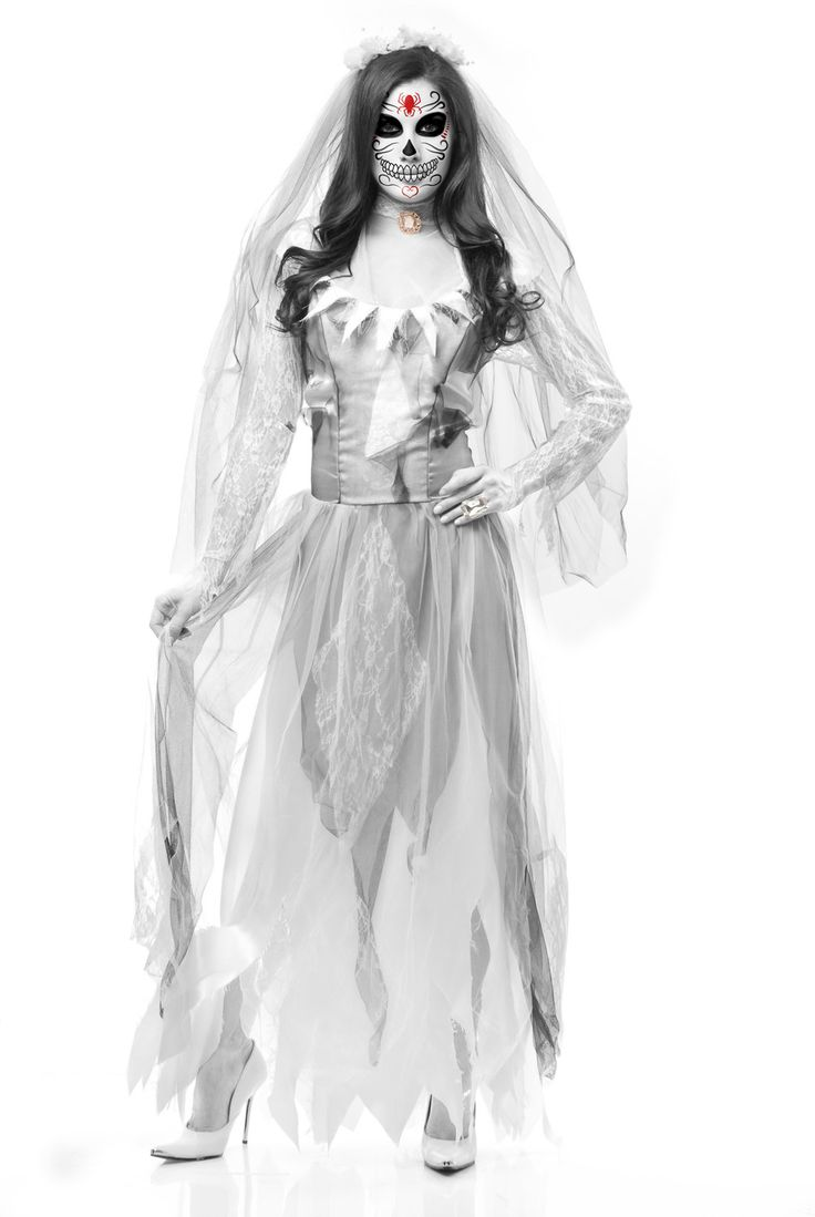 25+ best Ghost bride costume ideas on Pinterest | Ghost makeup ...