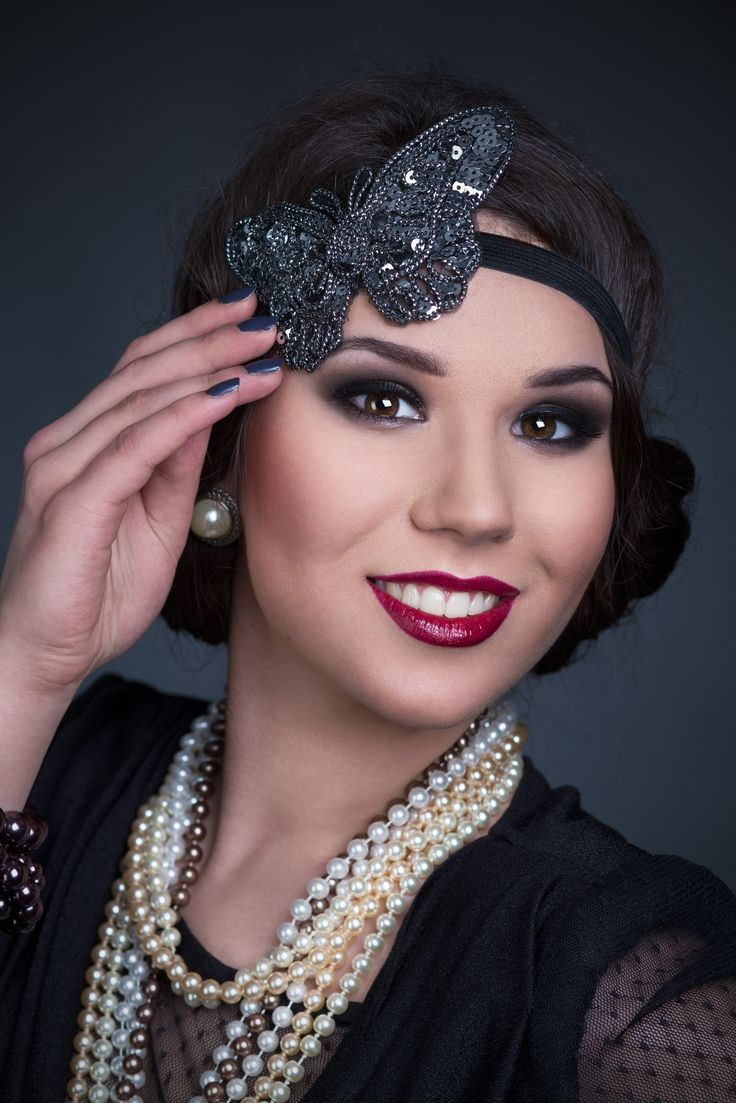 The Roaring 20 S Makeup Makeup Works Pinterest