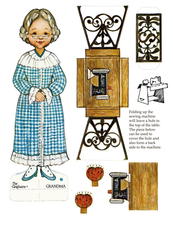 The Ginghams Grandma    http://tpettit.best.vwh.net/dolls/pd_scans/ginghams/visit_to_grandma.html