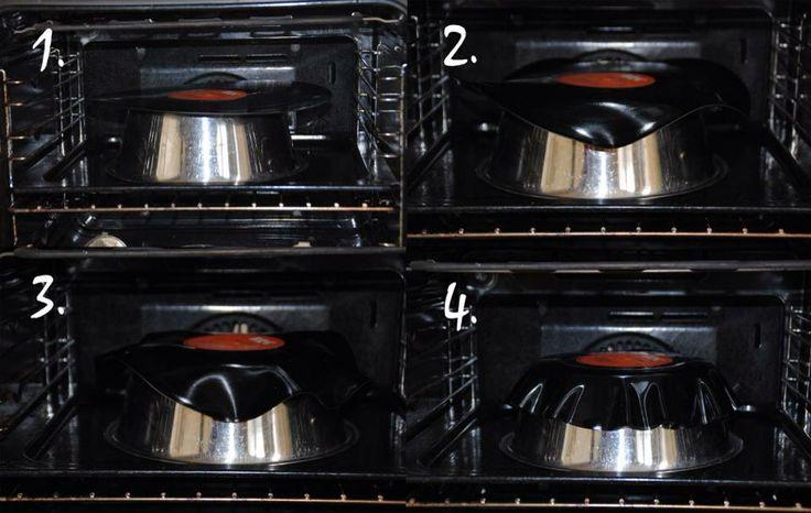 Vinyl schalen maken Oven voorverwarmen op 120 graden, LP op ovenvaste schaal/mok. (Oven blijft aan). Na ong 3 min. eruit halen, en eventueel bij buigen. Lukt t niet dan nog even terug de oven in. Mislukt terug de oven in en opnieuw beginnen. Let op LP is maar zo'n 30 sec. buigbaar.