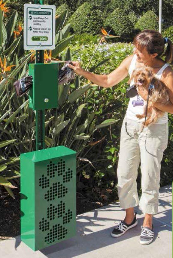 Dog Poo Dispenser For Parks
